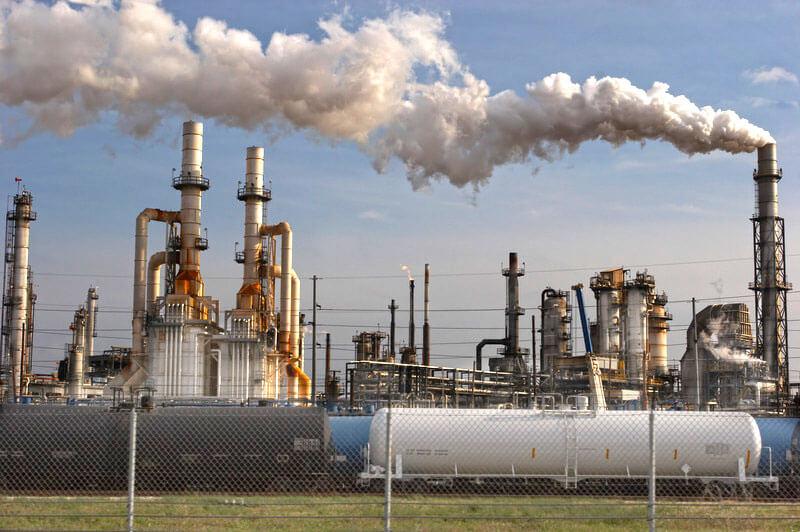 זיהום אויר תעשייתי